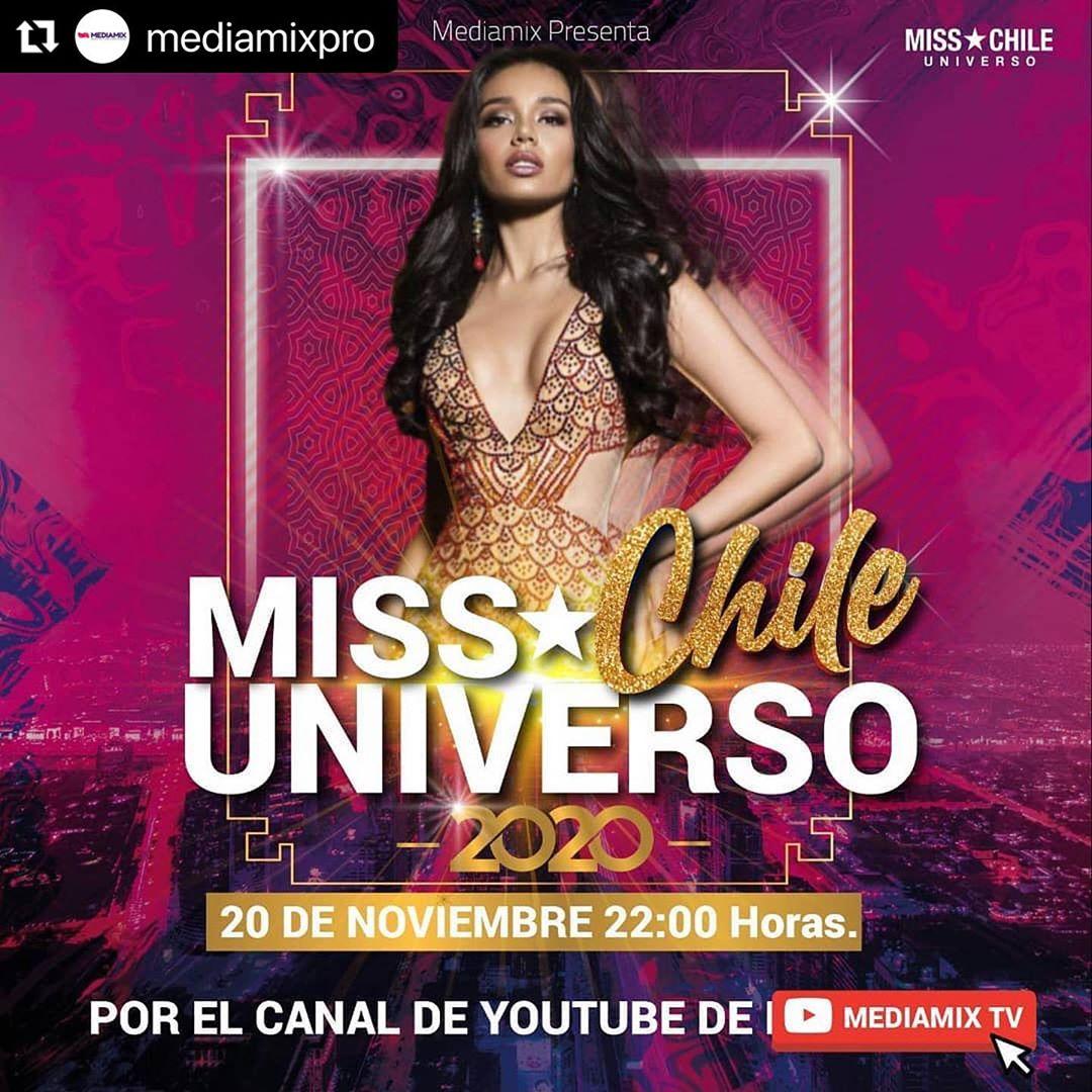 candidatas a miss universe chile 2020. top 8: pag 6. final: 20 nov.  - Página 2 UWn1tM